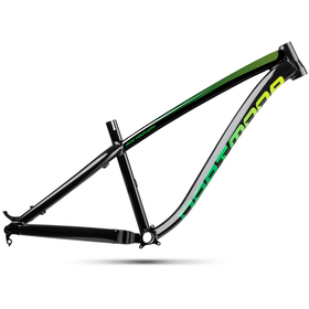 "DARTMOOR Hornet Hardtail Frame 27,5"" black/green"
